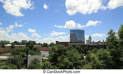 Orlando Skyline Shot Three sunny day time shoot