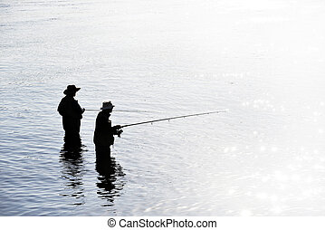 Fishing by Vancouver
