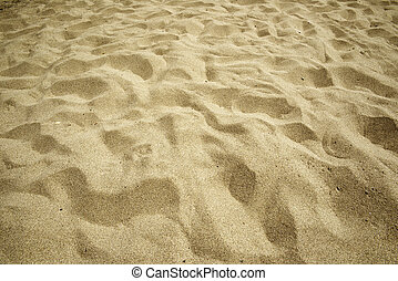 Sand on the beach