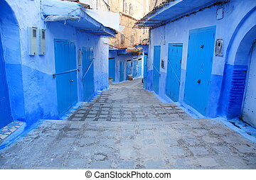 Chefchaouen Traditional Medinas and Colors in Morocco