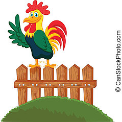 Crowing Vector Clipart Illustrations. 3,447 Crowing clip ...