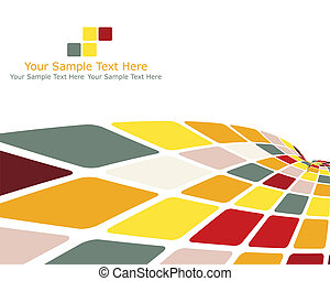 multicolor checked background - Abstract checked business...