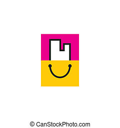 Buying Property sign - Branding identity corporate sign...
