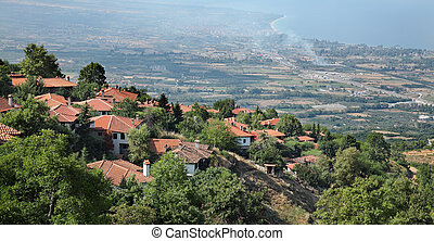 View from Old Platamonas, Platamon Greece - View from Old...