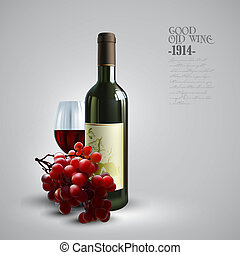 wine and grapevine, this illustration may be useful as...