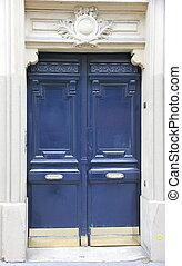 Dark blue door   - Dark blue door
