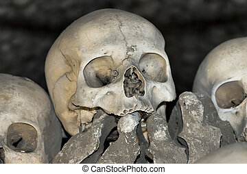 Sedlec Ossuary - Charnel house - The Sedlec Ossuary is a...