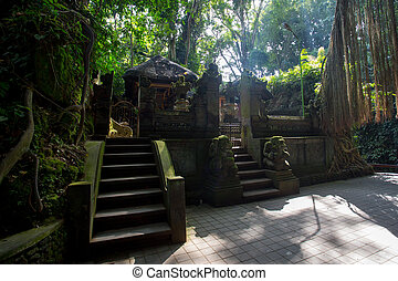Monkey Forest Temple