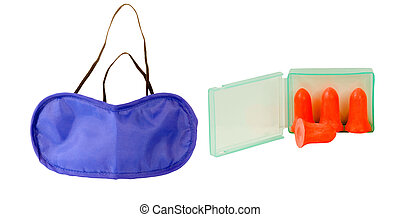 TOTAL RELAXATION,EYE MASK AND EAR PLUGS! - eye mask to make...