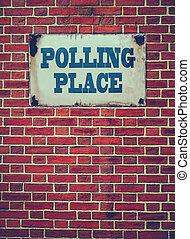 牆, 地方, 投票, 簽署