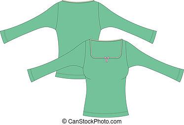 womens long sleeve t-shirt