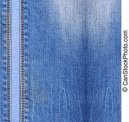 Blue jeans background - Blue jeans texture background