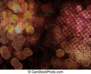 Bokeh Halftone Texture Background - Abstract Bokeh Halftone...