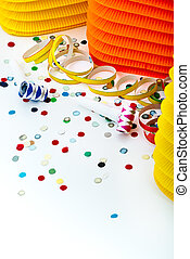 Carnival Background - carnival background with glitter and...