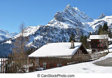 Holiday cottages in Braunwald, Switzerland