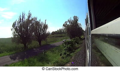 Travel by train in Hungary