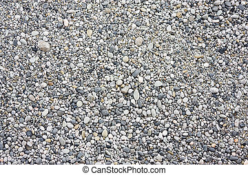 many small stones. background of stones