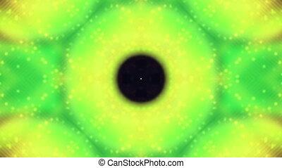 Circle Abstract VJ Loop in Green