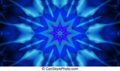 Blue Vortex VJ Looping Animated Background