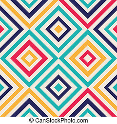 Abstract background with squares - Abstract background -...