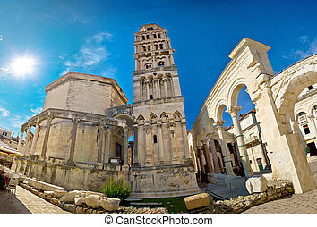 UNESCO world heritage site in Split - Diocletian palace...
