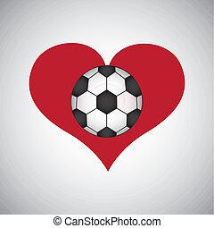 futbol, Ilustración