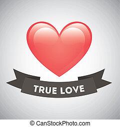 true love design , vector illustration