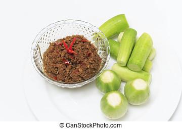 Nam Prig Ma-kham,Thaifood