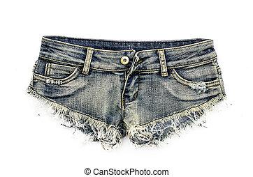 excitado, shortinho, denim, shorts