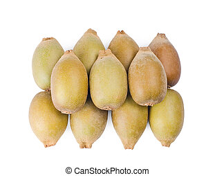 Group of Kiwi fruit