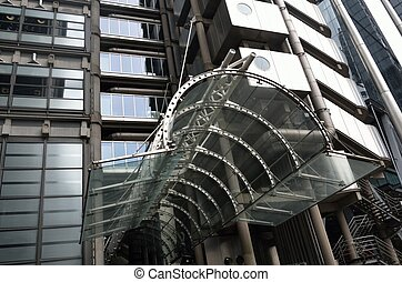 entrance of lloyds london - Lloyds of London entrance