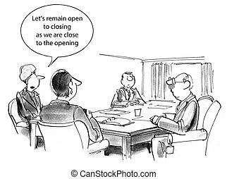 "Negotiation - ""Let's remain open to closing as we are close..."