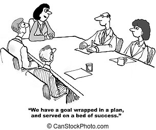 Strategic Plan - We have a goal wrapped in a plan and served...