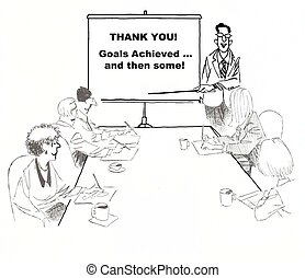 Teamwork - Thank You Goals achieved and then some