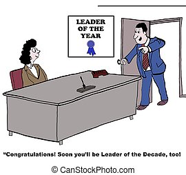 Leadership - Leader of the Year: Soon youll be leader of the...