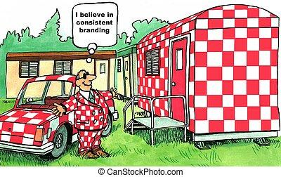Consistent Branding - 'I believe in consistent branding.'