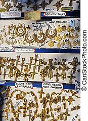 Sara, helgon, smycken, mecenat,  gypsies