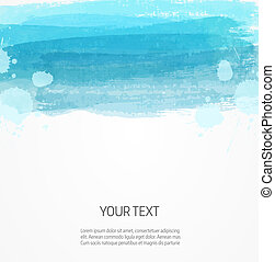 Modern watercolor background template - Background template...