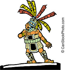 Mayan Ballplayer #2 - Mayan Ballplayer designed after...