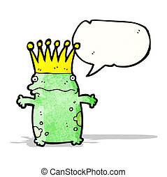 frog prince cartoon