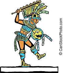 Mayan Warrior #3