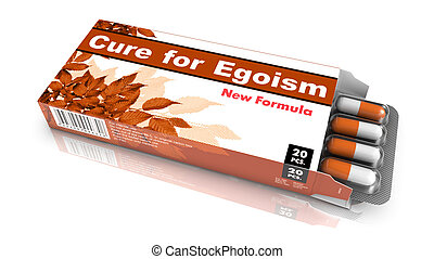 Cure for Egoism - Blister Pack Tablets. - Cure for Egoism -...