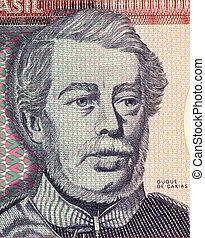Duque de Caxias on 100 Cruzerios 1984 Banknote from Brazil....