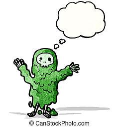 gross ghoul cartoon