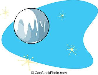Retro Planet Pluto