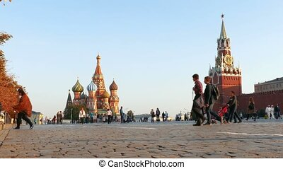 Red Square in Moscow - Red Square, the Cathedral and...