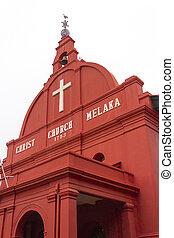 malaisie,  Melaka,  christ,  malacca, église