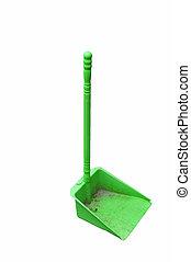 dustpan - green dustpan