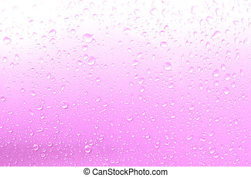Water drops background, drops of water on the floor