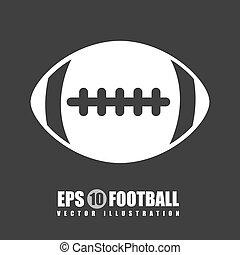 football design - football graphic design , vector...